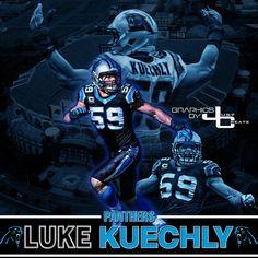 Keep Pounding Carolina Panthers  59 Luke Kuechly Luke Kuechly a0fa520f8
