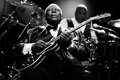 B.B. King performing live in Prague, Czech Republic on July 15, 2009. © Zdenko Hanout / Hanout Photography
