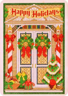 Christmas card - Cross stitch patterns