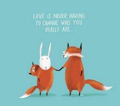 愛永遠不必改變你是誰