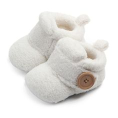 Lovely Hookloop Design Boy Girls Toddler First Walkers Baby Shoes Round Toe Flats Soft Slippers Shoes winter Baby Warm Shoes - TepuyMagazine Soft Slippers, Baby Slippers, Newborn Shoes, Baby Outfits Newborn, Baby Girl Shoes, Baby Boy, Baby Crib, Girls Shoes, Baby Knitting