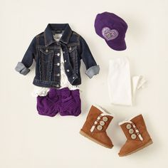 baby girl - outfits - boho butterfly - grape patrol | Children's Clothing | Kids Clothes | The Children's Place