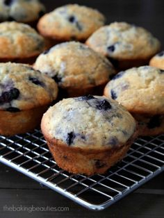"Gluten Free Blueberry Muffins {America's Test Kitchen ""The How Can it Be Gluten Free Cookbook"" Review and Giveaway}"