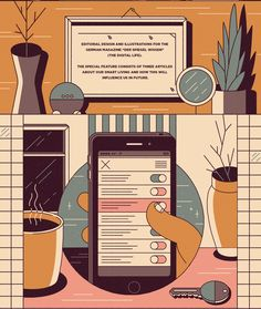 Editorial Design and Illustrations for the German Magazine »DER SPIEGEL Wissen«…