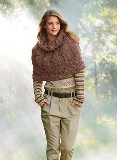 New Knitting Needles Diy Scarfs Ideas Poncho Au Crochet, Knitted Shawls, Knit Crochet, Beginner Knit Scarf, Wool Shop, Shrug For Dresses, Diy Scarf, Knit Wrap, How To Purl Knit