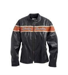 Harley-Davidson® Women's Core Victory Lane Leather Jacket 98070-14VW