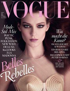 Kati Nescher para Vogue Alemania, Mayo 2013