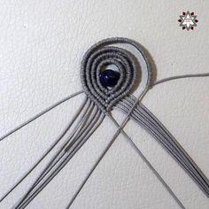 Tutorial: Loops earring – Macramotiv Macrame Earrings Tutorial, Macrame Necklace, Earring Tutorial, Macrame Bracelets, Loom Bracelets, Chevron Friendship Bracelets, Friendship Bracelets Tutorial, Geek Cross Stitch, Diy Fashion Projects