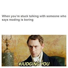 When someone says they don't like reading. | 24 Photos That Are Way Too Real For Book Lovers