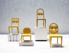 Fancy - The Simpsons Chairs by 56thStudio