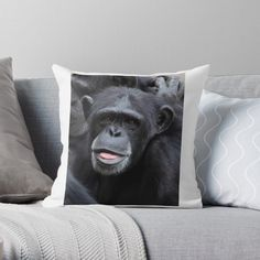 'Funny faces' Throw Pillow by DeonsDesigns Have A Laugh, Transparent Stickers, Designer Throw Pillows, Glossier Stickers, Funny Faces, Pillow Design, Original Art, Art Prints, Printed