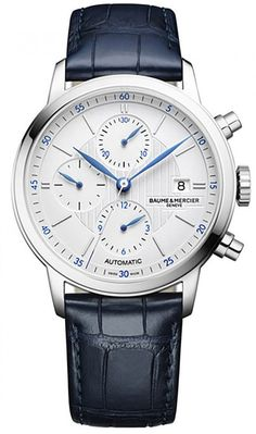 @baumeetmercier Watch Classima Pre-Order #add-content #basel-17 #bezel-fixed #bracelet-strap-alligator #brand-baume-et-mercier #case-material-steel #case-width-42mm #chronograph-yes #date-yes #delivery-timescale-1-2-weeks #dial-colour-silver #gender-mens #limited-code #luxury #movement-automatic #new-product-yes #official-stockist-for-baume-et-mercier-watches #packaging-baume-et-mercier-watch-packaging #pre-order #pre-order-date-30-04-2017 #preorder-april #sihh-geneve-2017 #style-dress…