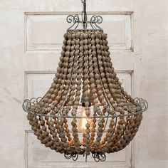 Skillfully mixed with modern and rustic elegance, this beaded chandelier gives all other chandeliers a run for their money! Romantic and relaxed, these dining room chandeliers resonate with natural style and add that wow factor to any room! For more visit, www.decorsteals.com OR www.facebook.com/decorsteals.