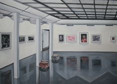 Ashford gallery, 2014   Óleo sobre lienzo  122cm x 92cm
