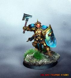 Le blog salaisien: [Age Of Sigmar] Figurine test stormcast eternal. part2.