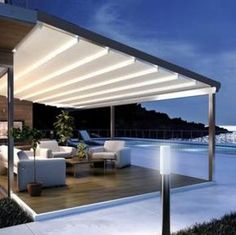 Retractable Pergola Awnings - Galleries - Ozsun Shade Systems