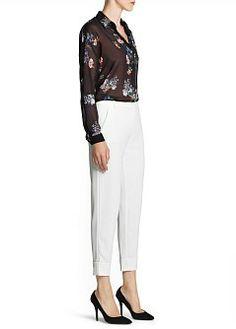 MANGO - CLOTHING - Tops - Floral print lightweight shirt