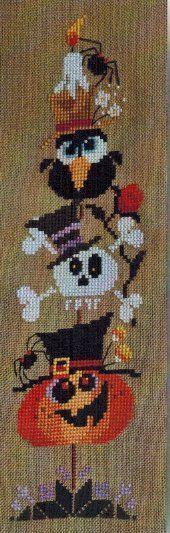 Spooky Tree - Cross Stitch Pattern