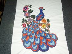 China, Beautiful Birds, Hand Embroidery, Kids Rugs, Image, Decor, Peacocks, Google, Scrappy Quilts