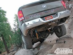 American #Axle and Manufacturing: #DodgePowerWagon - AAM's GM & Dodge Rearends - Read More: http://www.4wheeloffroad.com/techarticles/131_1302_american_axle_and_manufacturing_dodge_power_wagon/