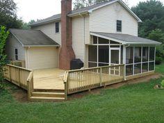 83 Best Deck Ideas Images Cottage Decks Porches Gardens