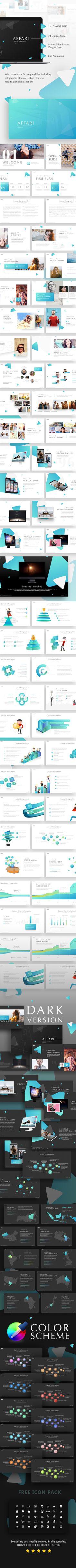 Affari Powerpoint Templates - Presentation Templates
