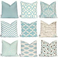 Not This Color Scheme But Could Do Throw Pillows In Same
