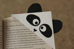 Panda Corner Bookmark. $3.00, via Etsy.