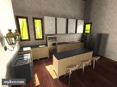 FIAP School Houses Kitchen