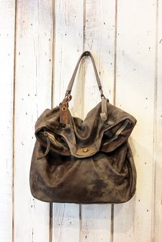 MAIL BAG Handmade Italian Leather Messenger by LaSellerieLimited