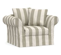 Designed exclusively for our Charleston Collection, these soft, inviting slipcovers retain their smooth fit and remove easily for cleaning. Slipcovers are available in over 95 beautiful, soft and durable fabric options. Remove easily for cleaning. Crafted in America by our own master craftsman. American and imported materials. Upholstered Swivel Chairs, Armchair Slipcover, Furniture Slipcovers, Slipcovers For Chairs, Home Furniture, Sofa, Fairy Furniture, Retro Office Chair, Purple Chair