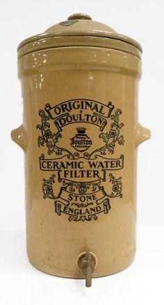 Ceramic Water Filter, Kitchen Words, Water Storage, Olive Oil, Crock, Stoneware, Pottery, Ceramics, Ideas