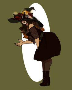 witchsona by mianaai.deviantart.com on @DeviantArt