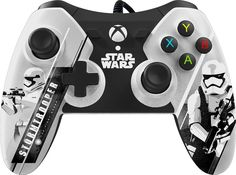Power A - Star Wars: The Force Awakens Stormtrooper Wired Controller for Xbox One - White/Black