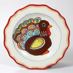 designer liner turkey platter