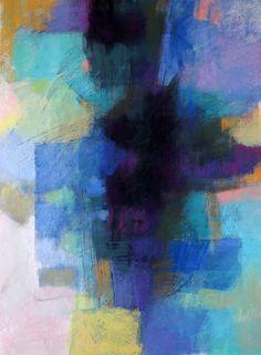 Debora Stewart Contemporary Abstract Pastels