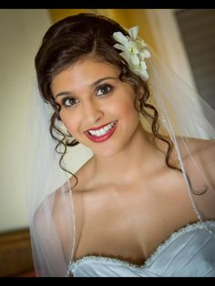 Airbrush bridal makeup  Facebook.com/sugarandspiceartistry... makeup by: Gina Petersen