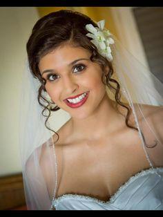Airbrush bridal makeup  Facebook.com/sugarandspiceartistry... makeup by: Gina Petersen