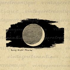 Printable Image Long Night Moon Graphic Crescent Moon Digital Illustration Download Artwork Vintage Clip Art Jpg Png 18x18 HQ 300dpi No.877 @ vintageretroantique.etsy.com #DigitalArt #Printable #Art #VintageRetroAntique #Digital #Clipart #Download