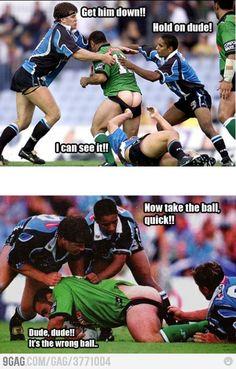 Take the ball