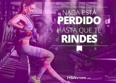 Nada está perdido hasta que te rindes. #fitness #motivation #motivacion #gym…