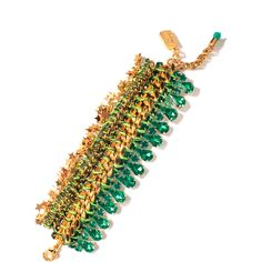 Venessa Arizaga Emerald Sea Bracelet