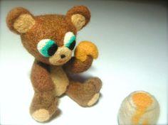 How to Needle Felt Miniature Animal Paws - Needle Felted Bear