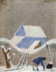 Ernest Zmeták Zima v Lendaku Folk, Artists, Painting, Art, Popular, Painting Art, Forks, Paintings, Folk Music