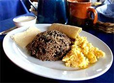 Recetas Costarricenses de Gallo Pinto, Cocina Tipica Costa Rica - this looks to be the most legit