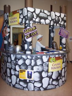 Cook's Kitchen (Snack area)...cute to do around the pass through windows of the kitchen.