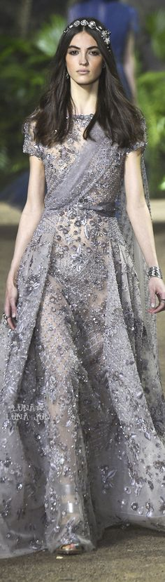 Elie Saab Spring 2016 Couture   ...Aaliyah's engagament announcement dress
