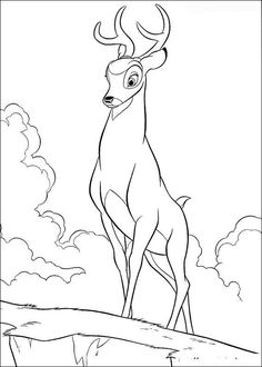 bambi coloring pages - Bing Images | Misc Coloring Pages ...