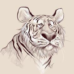 Tiger tiger burning bright #sketch