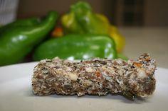 Vimergy - Raw Food Bar Recipe (Sugar Free, Raw and Vegan) Raw Dessert Recipes, Raw Desserts, Raw Food Recipes, Vitamix Recipes, Blender Recipes, Yummy Recipes, Healthy Protein Bars, Raw Protein, Protein Superfood